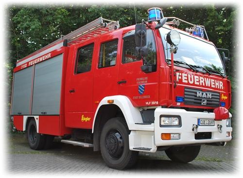 HLF - Hilfeleistungslöschgruppenfahrzeug