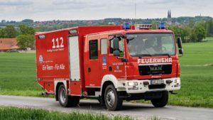 Löschgruppenfahrzeug Logistik